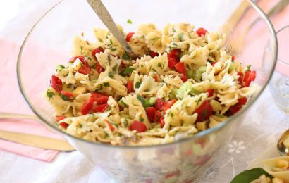 Chilled Bow Tie Pasta Salad