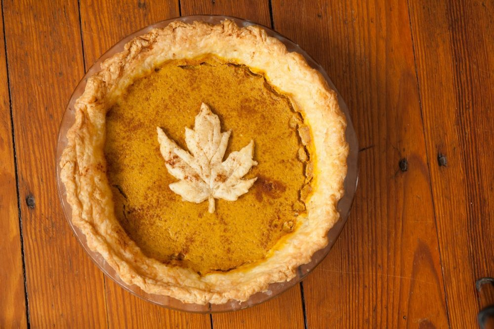 Maple Spice Bean Pie