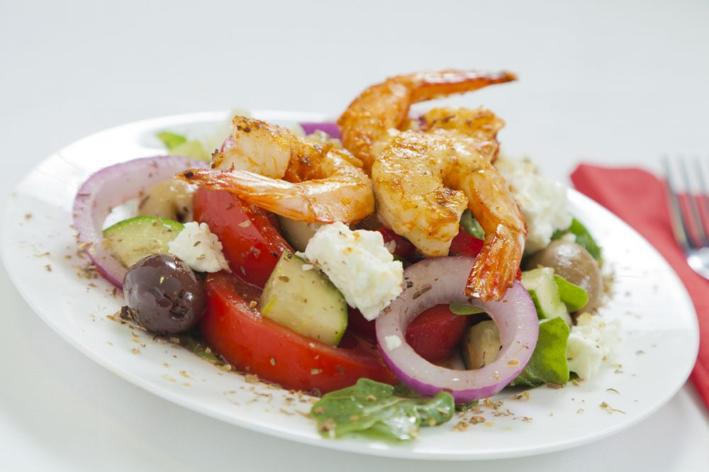 Greek shrimp
