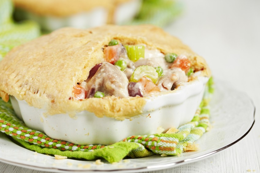 Penny-Wise Chicken Pot Pie