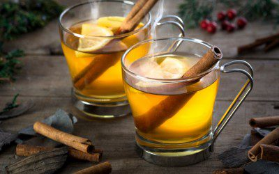 Mulled Apple Cranberry Cider