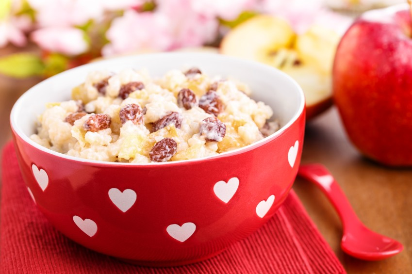 Cranberry Rice Pudding