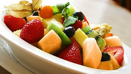 Colorful fruit medley