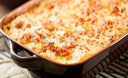 Individual Oven Baked Spaghetti Recipe for Diabetics