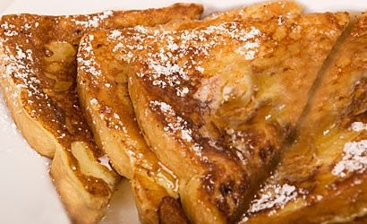 Overnight Baked Stuffed French Toast