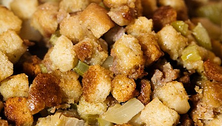 Savory bread dressing