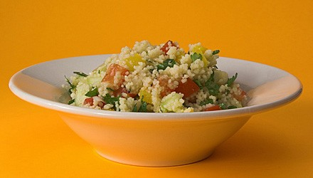 Zesty bulgur salad