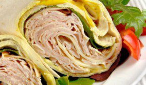 Two-Minute Turkey Wrap