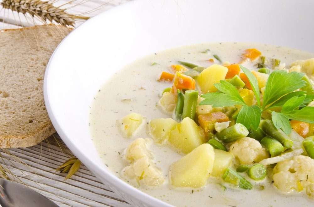 Creamy Potato-Broccoli Soup