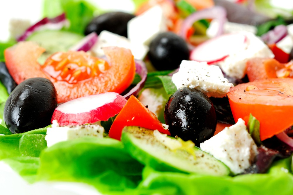 Diabetic Greek Salad Recipe