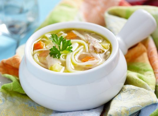Diabetic Chicken Noodle Soup Recipe