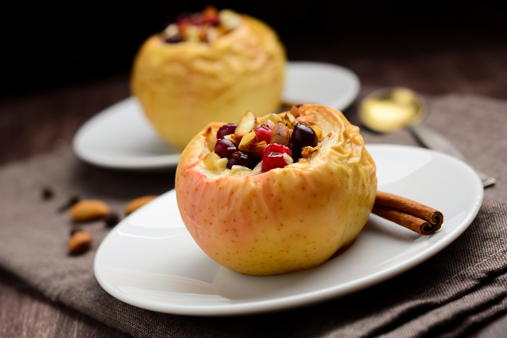 Diabetic Spiced Baked Apples Recipe