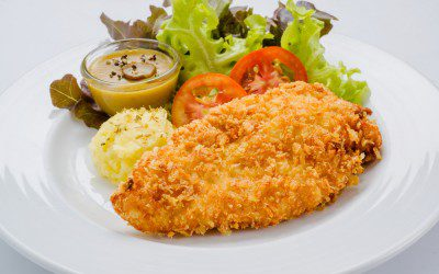 "Oven ""Fried"" Chicken for Diabetics"