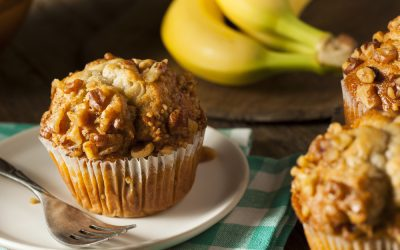 Banana Nut Bran Muffin Recipe