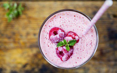 Tofu Berry Smoothie