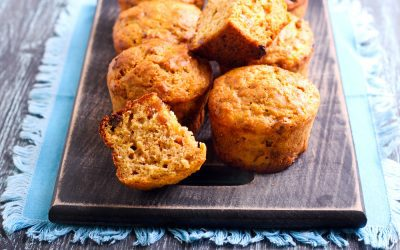 Carrot Oat Bran Muffin Recipe