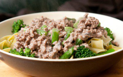 Beef and Broccoli Stroganoff