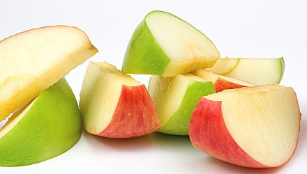 Tangy apple slices