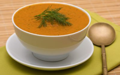 Winter Squash Soup with Dill