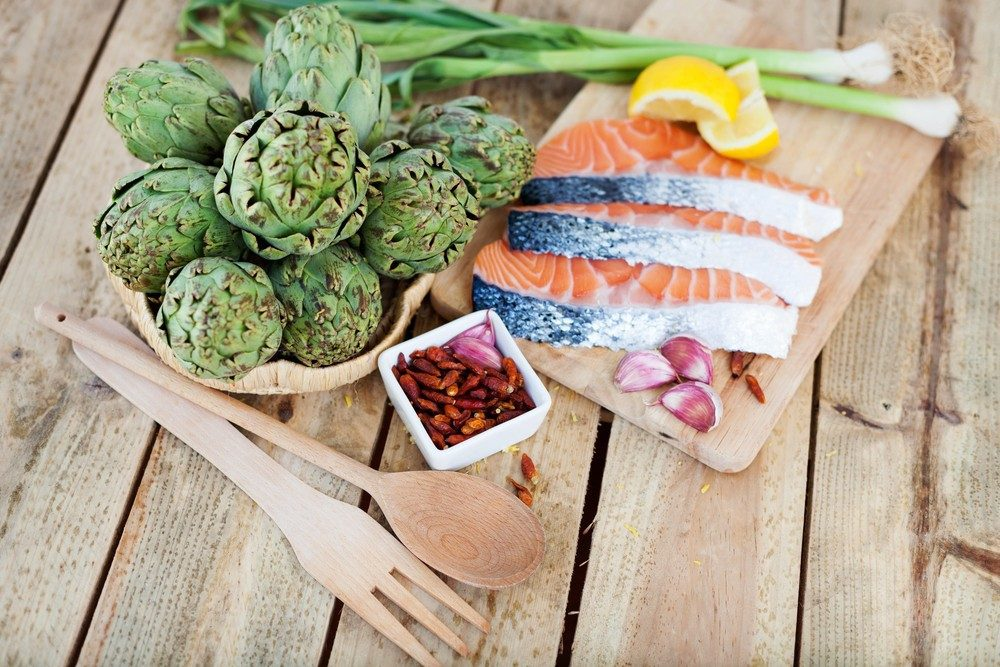 Diabetic Artichoke Hearts and Salmon Salad Recipe