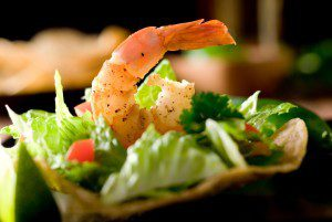 Shrimp Fajita Salad