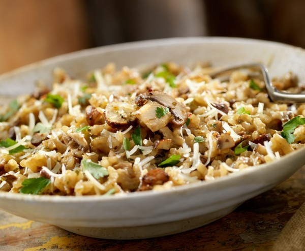 Chef Marco's Orzotto with Porcini Mushrooms