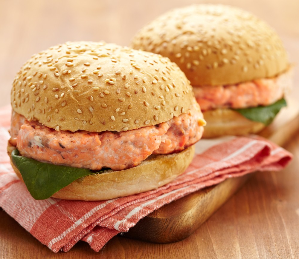 Salmon Sandwiches With Spicy Apricot Sauce Easy Diabetic Friendly Recipes Diabetes Self