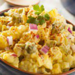 "Diabetic recipes - Low-Carb Cauliflower ""Potato"" Salad for Diabetics"
