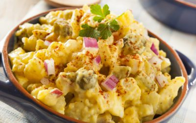 "Low-Carb Cauliflower ""Potato"" Salad for Diabetics"