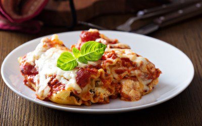 Low-Calorie Lasagna Roll-Ups
