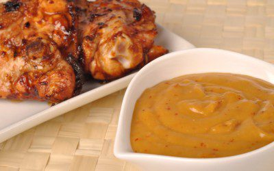 Spicy Apricot Glazed Chicken