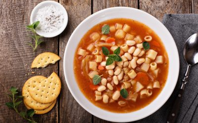 Vanda's minestrone with barley and lentils
