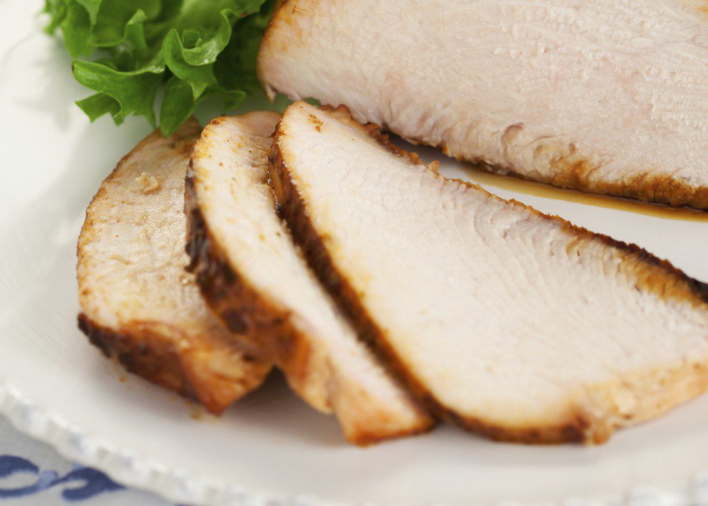 Tempting Crock-Pot™ Turkey Breast with Pineapple Sweet and Sour Sauce