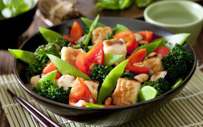 Tofu and Vegetable Stir-Fry