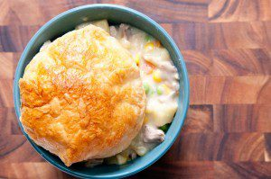 Easy Old-Fashioned Turkey Pot Pie