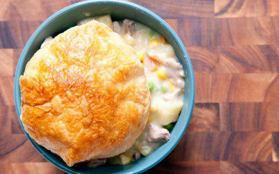 Easy Old-Fashioned Turkey Pot Pie for Diabetics