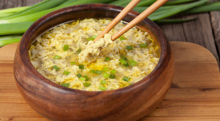 Low-Fat Egg Drop Soup