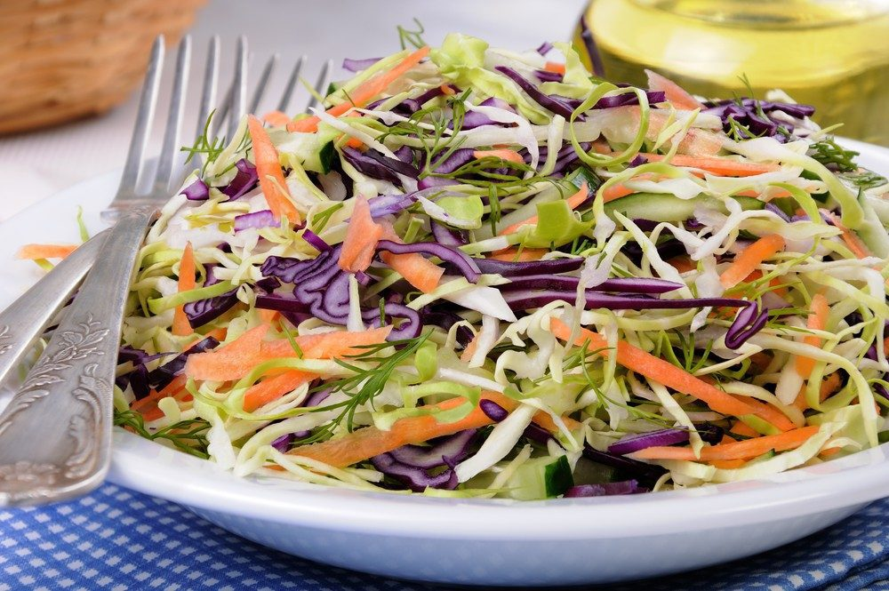 Hold-the-Mayo Coleslaw