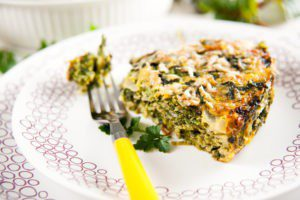 Baked Spinach Casserole