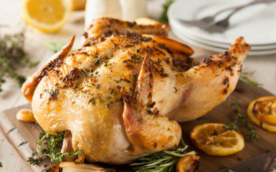 Low-Sodium Herb-Roasted Chicken