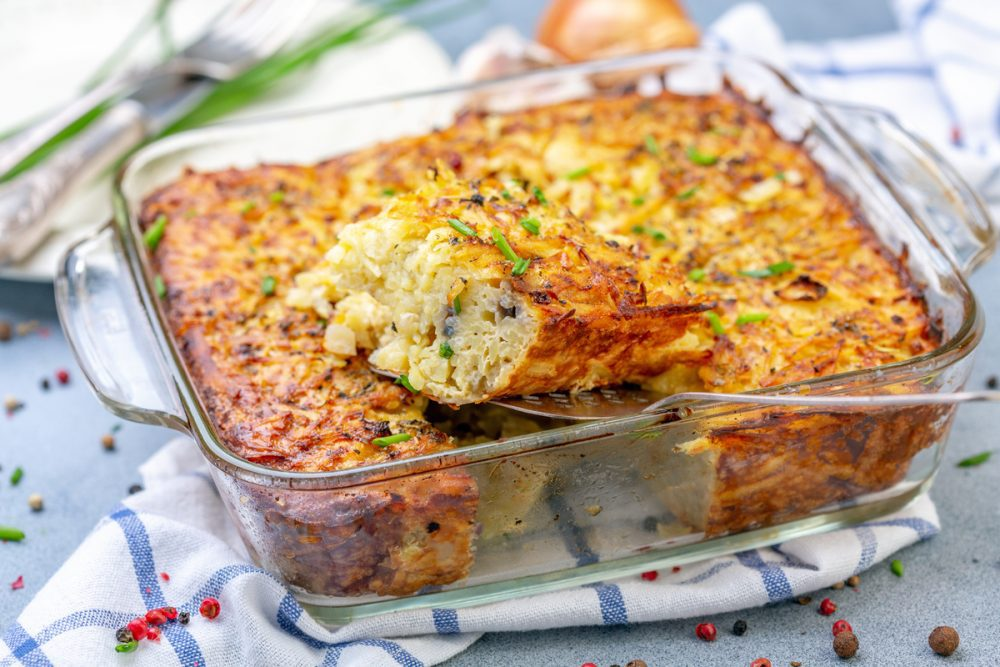 Potato and Carrot Kugel