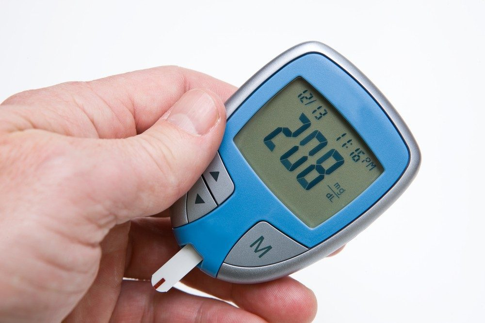 Glucose monitors are used to check high blood sugar.