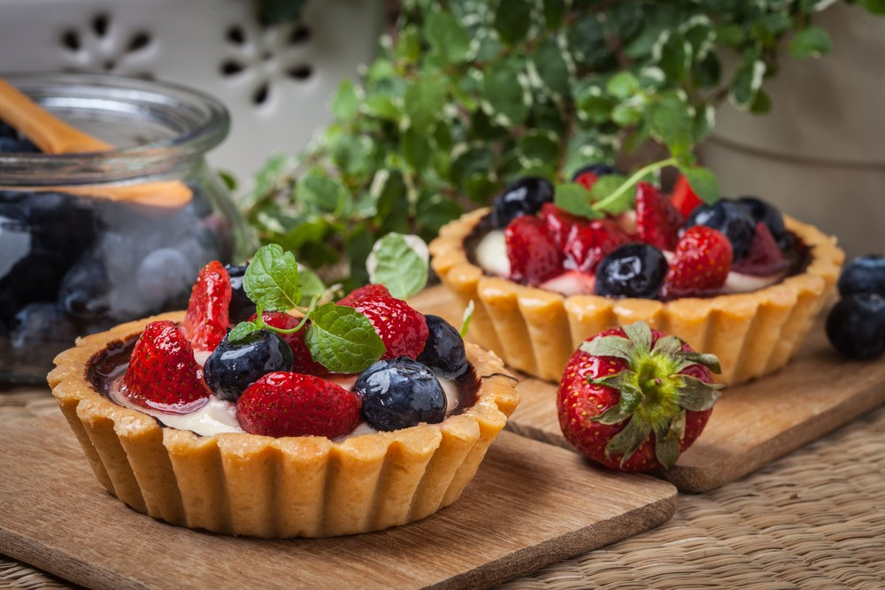 Party Fruit Tarts