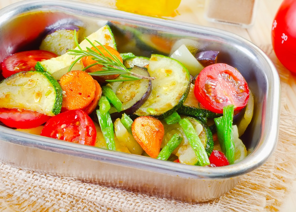 Mixed Vegetables with Light Citrus Sauce