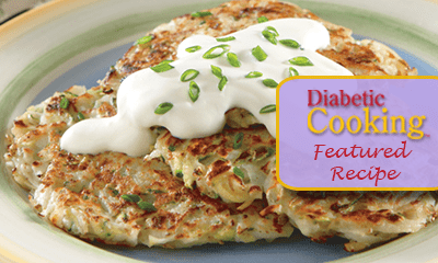 Enlightened potato-zucchini pancakes