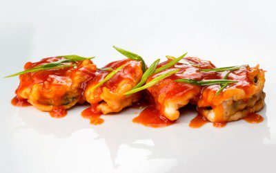 Spicy Shrimp Appetizers