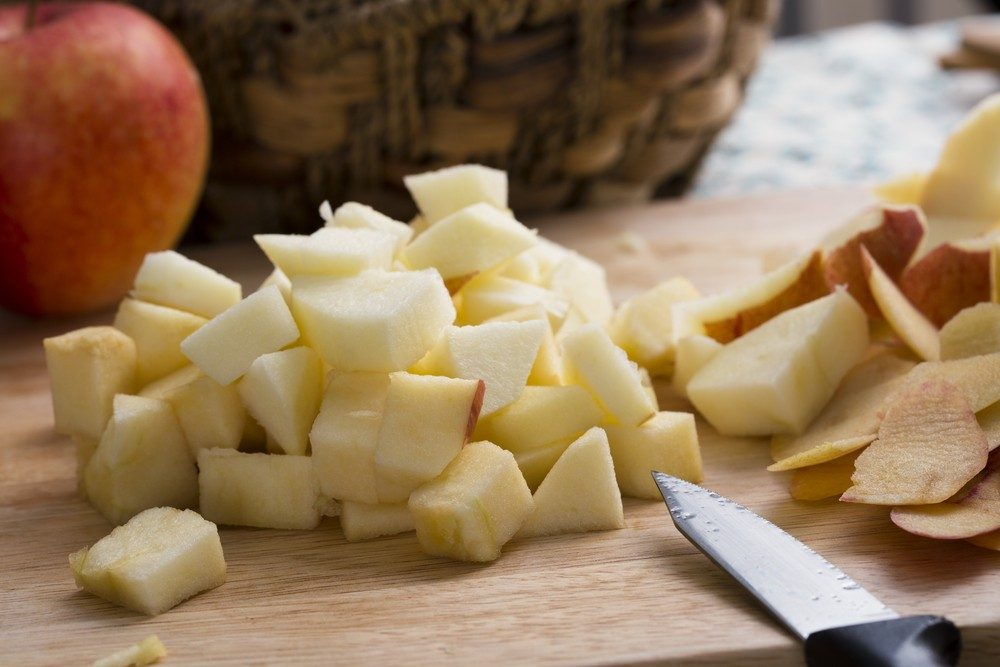 Apple Salad with Tangy Citrus Dressing