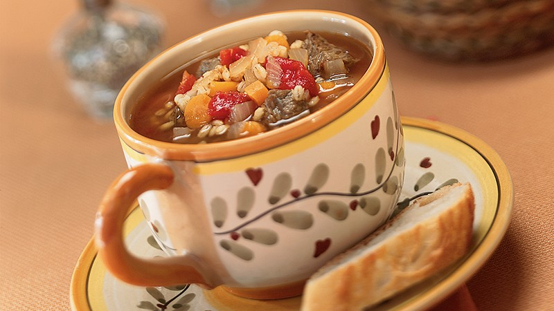 Italian Beef and Barley Soup