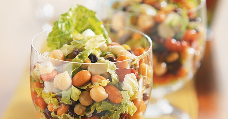 six-bean party salad