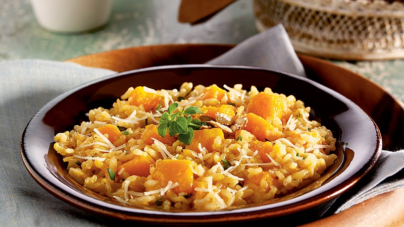 Winter Squash Risotto